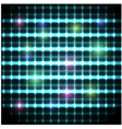 Modern background with neon grate eps10 vector image