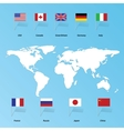 flags states vector image vector image