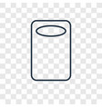 kitchen board concept linear icon isolated on vector image