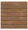 Old Wooden Board vector image vector image