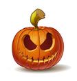Pumpkins Scary 1 vector image vector image
