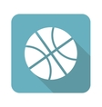 Square basketball icon vector image vector image