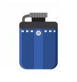Tourist Flask Icon vector image
