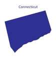 United States Connecticut vector image vector image