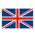 flag united kingdom classic british icon vector image