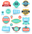 Badges tag label sticker colour set vector image vector image