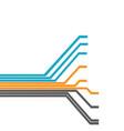 circuit tree futuristic concept background vector image