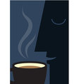 Coffee Smell vector image