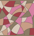 colorful geometric background of the curves vector image vector image
