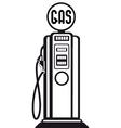 gasoline pump vector image vector image