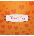 Mothers Day paper Banner Template vector image vector image