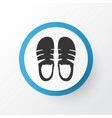 sandal icon symbol premium quality isolated vector image vector image