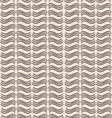 A pattern of wavy lines vector image vector image