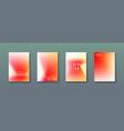 abstract gradient wave background with geometric vector image