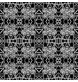 black-white tiles seamless pattern vector image vector image