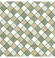 Geometric pattern with squares and triangles vector image vector image
