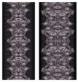 lace ethnic vertical seamless pattern vector image vector image