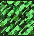 monstera leaves pattern vector image
