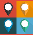 set pointers to map on different vector image vector image