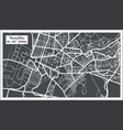 versailles france city map in retro style outline vector image vector image