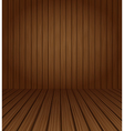 Wood textured background vector image vector image