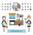 Cleaning Design Concept vector image vector image