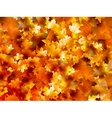 Colorful background of autumn leaves EPS 10 vector image
