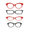 glasses for vision vector image
