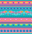 pakistani or indian truck art seamless pattern vector image