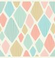 seamless geometric diamond repeat pattern vector image