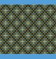 seamless golden rhombus knitting pattern vector image vector image