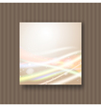 soft dreamy light strokes vector image vector image