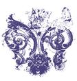 distressed royal fleur de lys