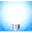 A light bulb vector image vector image