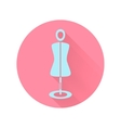 abstract mannequin icon vector image