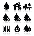 Blood donation medical icons set vector image vector image