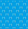 decorative poles with tape pattern seamless blue vector image vector image