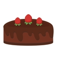 Different cakes isolated vector image vector image