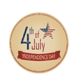 independence day 4th July vector image