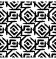 Rhombus simple seamless pattern hand drawn vector image