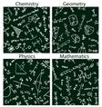 school patterns vector image