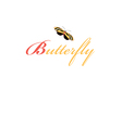 sign butterfly vector image vector image