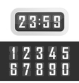 time clock vector image vector image