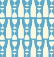 wine and wine glasses pattern vector image vector image
