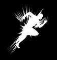 a sprinter vector image vector image