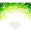 Abstract retro geometric background vector image vector image