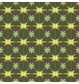 Flower green pastel seamless pattern vector image vector image