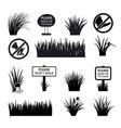 garden or park signs vector image