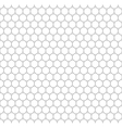Gray grid of five millimeters circles seamless vector image vector image