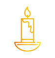 happy diwali india festival candle in chandelier vector image vector image